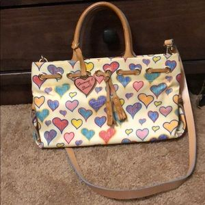 dooney and Bourke classic hearts bag